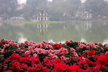 Hanoï, lac de l'épée restituée