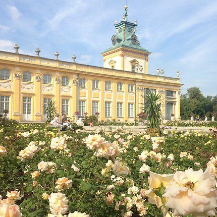 Ma vie de château au Palais de Wilanow
