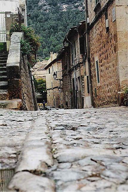 Les ruelles pavées de Valldemossa