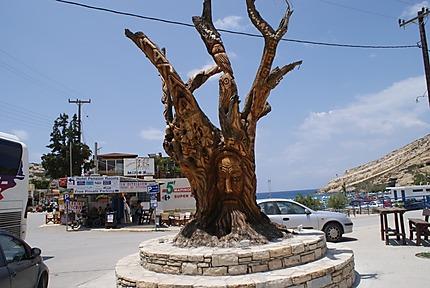 L'arbre de Matala
