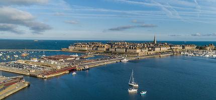 La citadelle de Saint-Malo