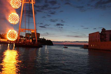 Marseille entrée du vieux port
