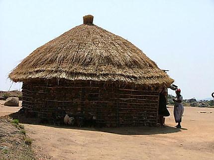 Hutte au Swaziland