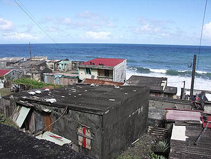 Maisons sur la plage