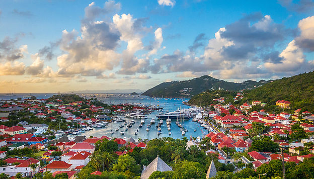 Saint-Barthélemy, l'île star des Antilles