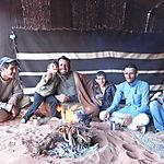 Diner dans le désert