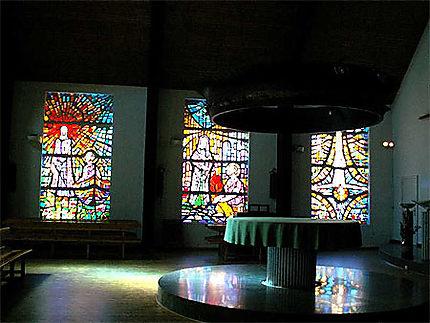 Intérieur de l'Eglise San Pedro au Pas de la Case - Andorre