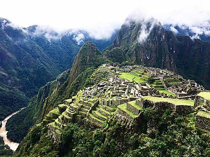 Machu Picchu l'après midi