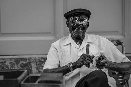 Joueur de musique à Cuba