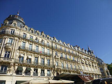 Façades de la place de la Comédie, Montpellier