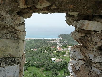 Château Himare en Albanie