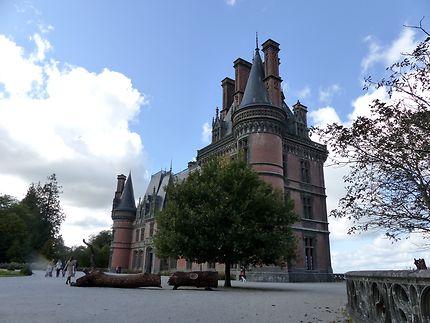 Château de Trevarez de style neo-gothique