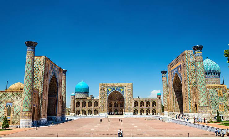Voyage - Sur la route de la Soie en Ouzbékistan
