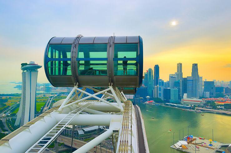 Marina Bay, le quartier surgi des eaux de Singapour