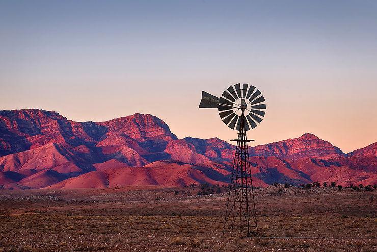 Moralana scenic drive, Flinders Ranges, Australie du Sud