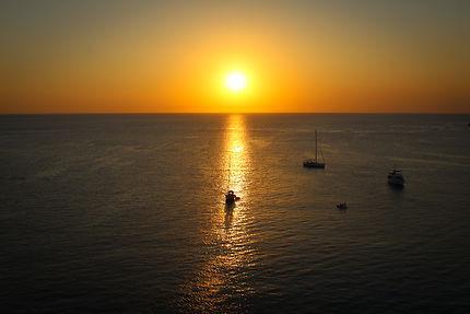 Coucher de soleil sur Malte