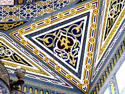 Mosaïque dans la Mosquée in Dahar, Hurghada