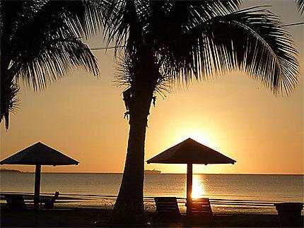 Sunset on Nadi Beach