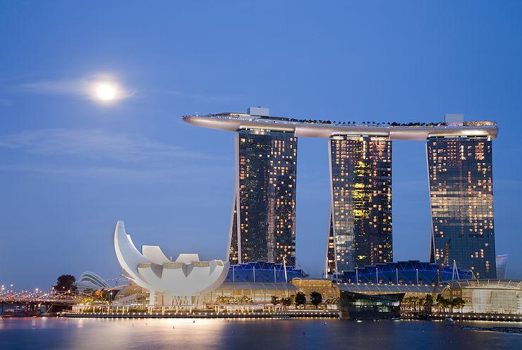Marina Bay Sands, la nouvelle icône de Singapour