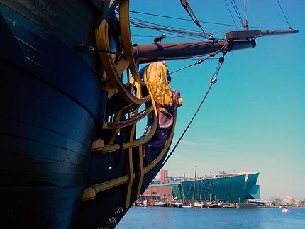 Dans le Port d'Amsterdam