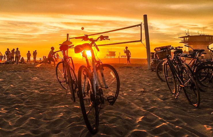 Venice Beach et Santa Monica, face au Pacifique