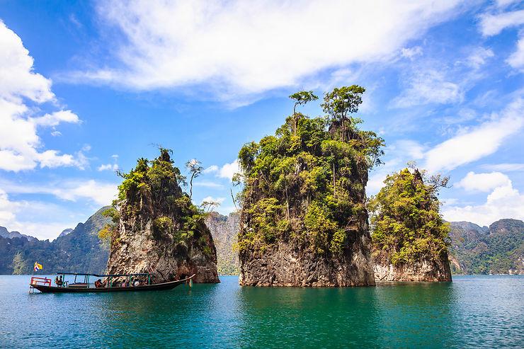 Notre coup de cœur : le lac de Chiew Larn