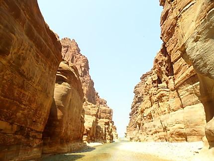 Wadi Mujib - Jordanie