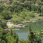 Un village de pêcheurs sur le lac de Butrint