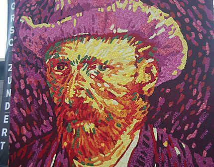 Composition florale près du Musée Van Gogh