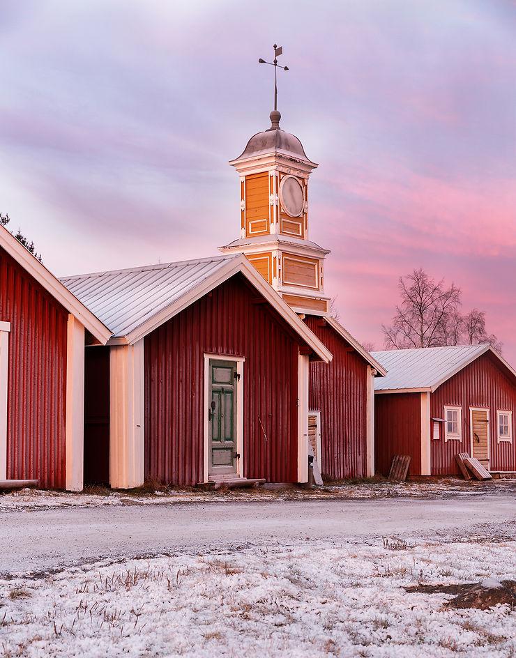 Kukkola, saumon et sauna à la suédoise