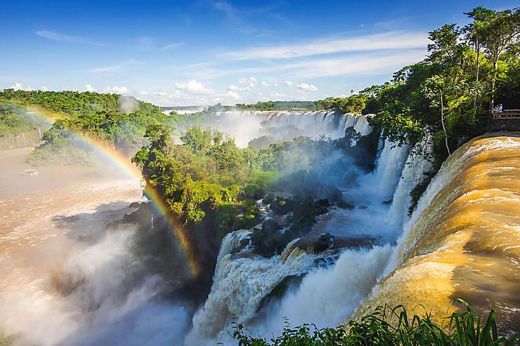 En prendre plein la vue aux chutes d'Iguazú, aux confins de l'Argentine, du Brésil et du Paraguay