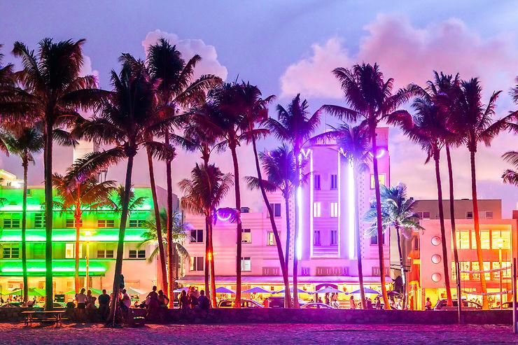 Ocean Drive, Miami, Floride