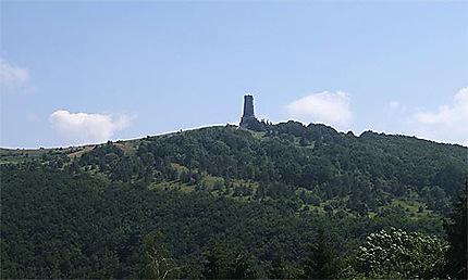 Col de Chipka monument aux soldats russes