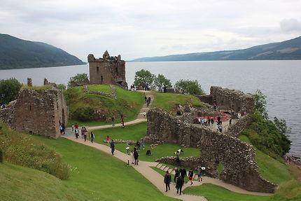 Urquhart Castle et Loch Ness