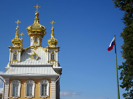 Chapelle au Château de Peterhof