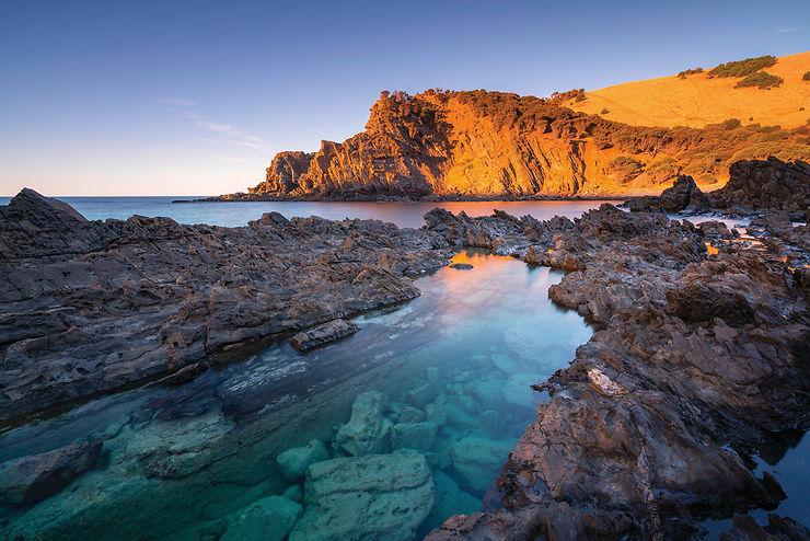 Western River Cove, Kangaroo Island, Australie du Sud