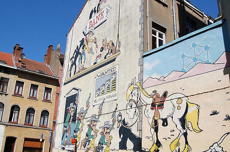 Street art et bande dessinée