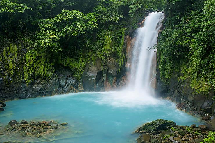 Parque Nacional Volcán Tenorio : féérie en pleine jungle