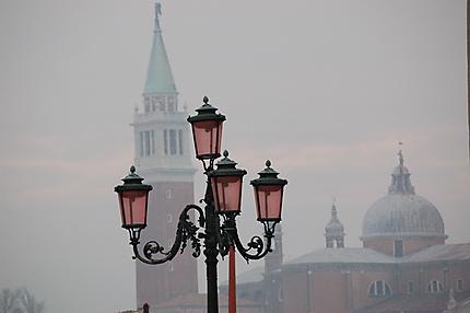 San Giorgio Maggiore au télé-objectif