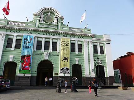 Ancienne gare ferroviaire devenue musée