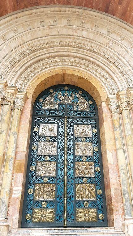 Portail de la cathédrale de Cuenca