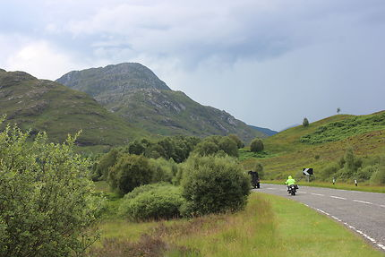 Route en Hautes terres