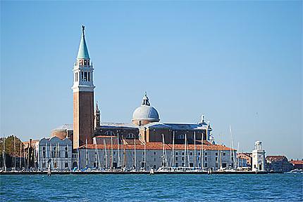 Le port et San Giorgio Maggiore