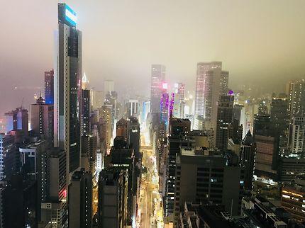 Hong Kong sous la brume