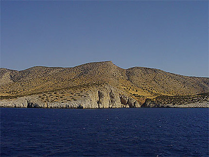 La côte de Naxos