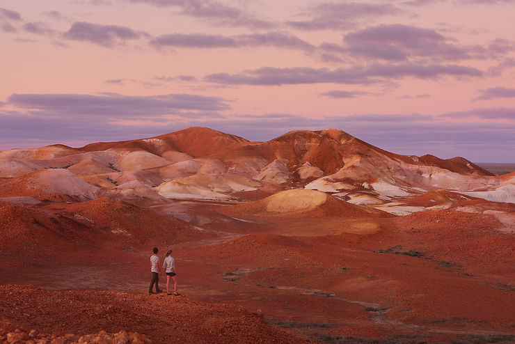 Réserve naturelle de Kanku-Breakaways - Coober Pedy, Australie du Sud