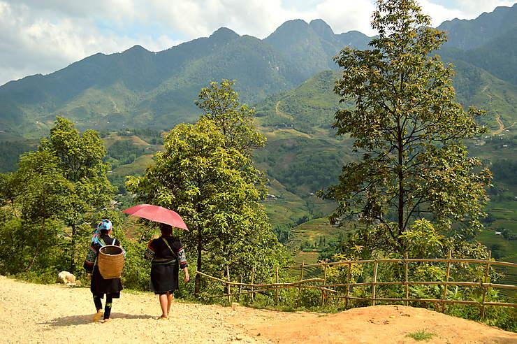 Femmes H'Mongh à Sapa, Vietnam