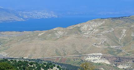 Chemin des collines du Golan