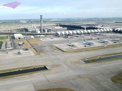L'aéroport Suvarnabhumi de Bangkok