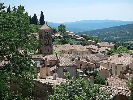 Les toits de Moustiers-Sainte-Marie